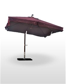 Parasol Madera Deluxe 3x3 m