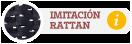 Imitación Rattan