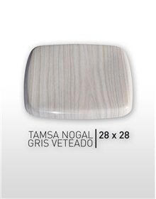 Tamsa Nogal - Gris veteado